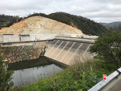 Kangaroo Creek dam upgrade